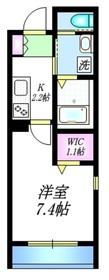 メゾン ウィンピエール2階Fの間取り画像
