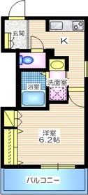 Lumiere Yokohama4階Fの間取り画像