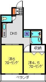 ドリーム日吉3階Fの間取り画像