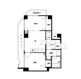 第13鈴木ビル2階Fの間取り画像