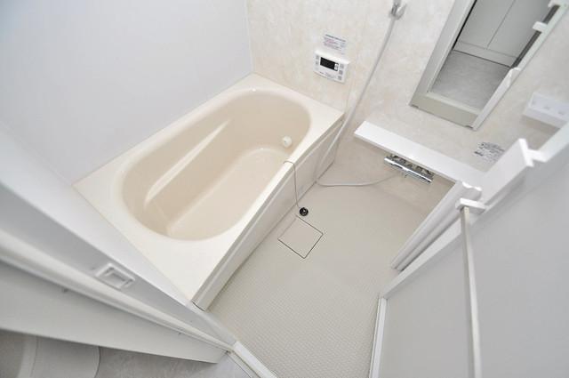 プレシオ小阪 一日の疲れを洗い流す大切な空間。ゆったりくつろいでください。