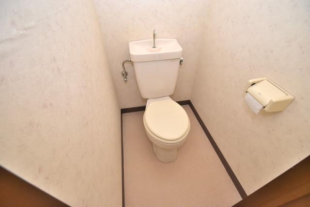 レスポワール 白くてピカピカのトイレですね。癒しの空間になりそう。