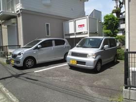 アビタシオンM堀ノ内A棟駐車場