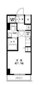 菊名駅 徒歩6分5階Fの間取り画像