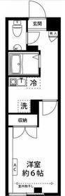 New River Yokohama Koyasudai3階Fの間取り画像