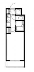菊名駅 徒歩8分2階Fの間取り画像