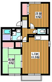 和光市駅 徒歩34分2階Fの間取り画像