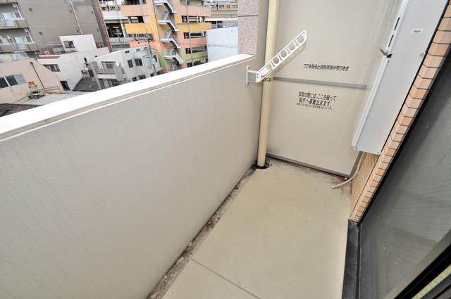CITY SPIRE布施(ラグゼ布施) 心地よい風が吹くバルコニー。洗濯物もよく乾きそうです。