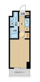 HF関内レジデンス6階Fの間取り画像