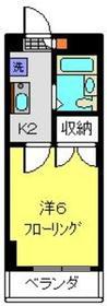 シャトール田口片倉3階Fの間取り画像