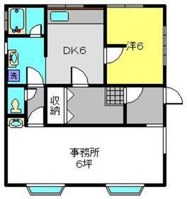 ヤギハウス神大寺2階Fの間取り画像