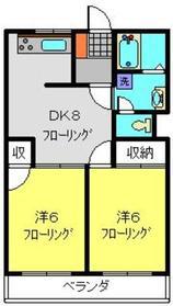AIビル2階Fの間取り画像