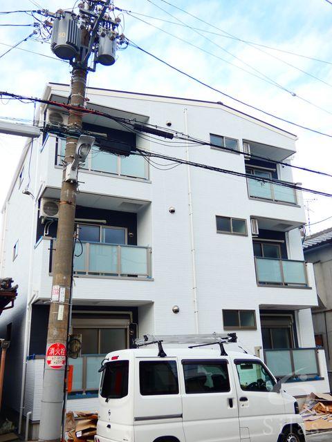 大阪市生野区田島6丁目の賃貸アパートの外観