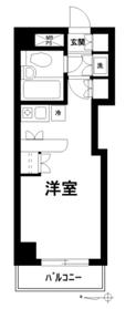コスモ東池袋6階Fの間取り画像