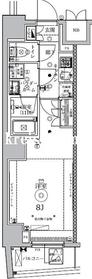 セジョリ東大前6階Fの間取り画像