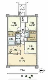 本厚木駅 徒歩10分1階Fの間取り画像