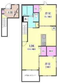 (仮称)鵜の木2丁目メゾン 202号室