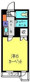 グリーンピア富岡Ⅰ号棟3階Fの間取り画像