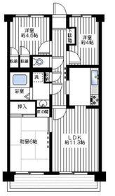 上永谷駅 徒歩4分3階Fの間取り画像
