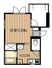 ファム ラフィネ3階Fの間取り画像