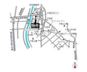 エステートピア大倉案内図