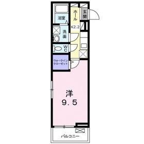 ミニョンダンジュ21階Fの間取り画像
