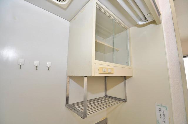 プレアール小若江 コンパクトながら収納スペースもちゃんとありますよ。