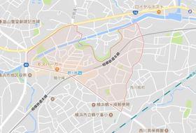 グリーンコーポ鶴ヶ峰B案内図
