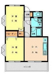 グリーンヒル大倉山3階Fの間取り画像
