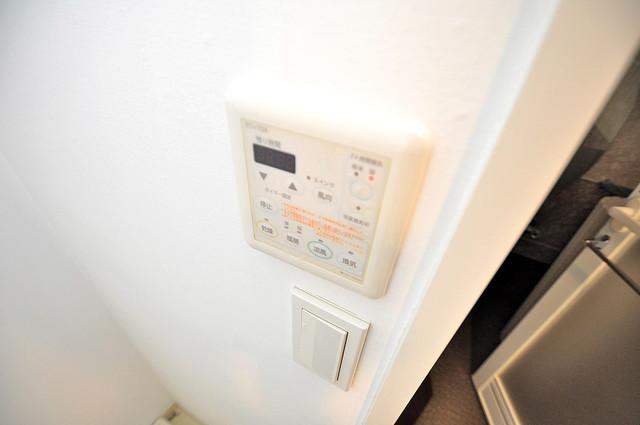 セレッソコート八戸ノ里ハートランドイーストビュー 浴室乾燥機付きで梅雨の時期も怖くありません。