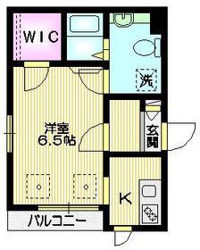 メゾン・エイノ3階Fの間取り画像
