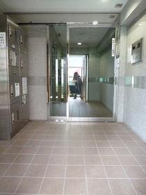 スカイコート早稲田第5エントランス