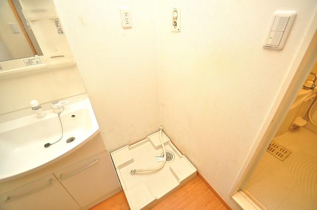 ソレジオ武村V S 洗濯機置場が室内にあると本当に助かりますよね。