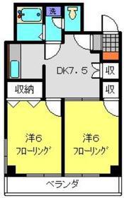 中川駅 徒歩25分1階Fの間取り画像