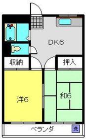北新横浜駅 徒歩28分1階Fの間取り画像