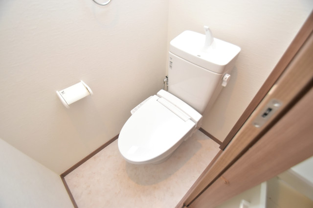 グロースコート弥刀 清潔感のある爽やかなトイレ。誰もがリラックスできる空間です。