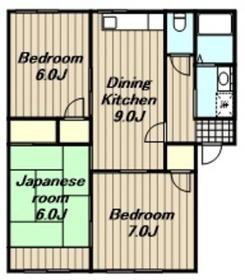 入谷駅 車15分5.3キロ1階Fの間取り画像