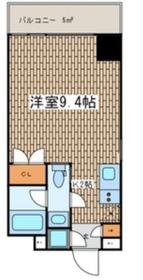 プレミアムレジデンス川崎6階Fの間取り画像