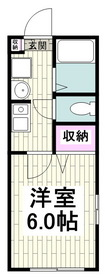追浜駅 徒歩10分1階Fの間取り画像