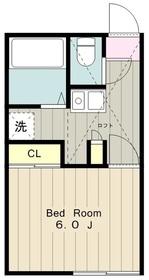 オラシオン(町屋3)2階Fの間取り画像