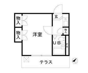 Affable東川口(アファブル東川口)2階Fの間取り画像