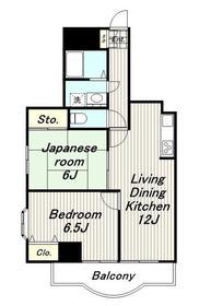 フィフスフロンティア4階Fの間取り画像
