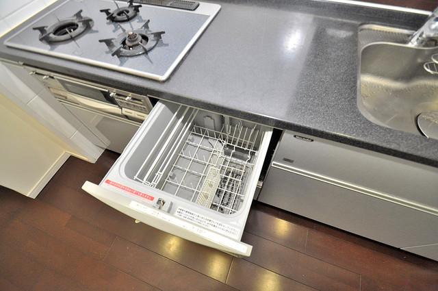 セレッソコート八戸ノ里ハートランドイーストビュー 食器洗浄機も完備しております。
