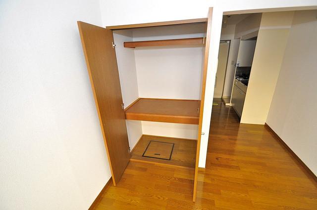 エステートピアナカタC棟 もちろん収納スペースも確保。お部屋がスッキリ片付きますね。