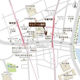 クレアーレ麹町案内図