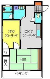 エメラダ2階Fの間取り画像