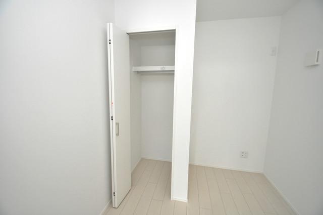 Lumo布施(ルーモフセ) もちろん収納スペースも確保。いたれりつくせりのお部屋です。