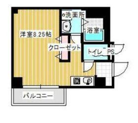 リベール・エム二俣川2階Fの間取り画像