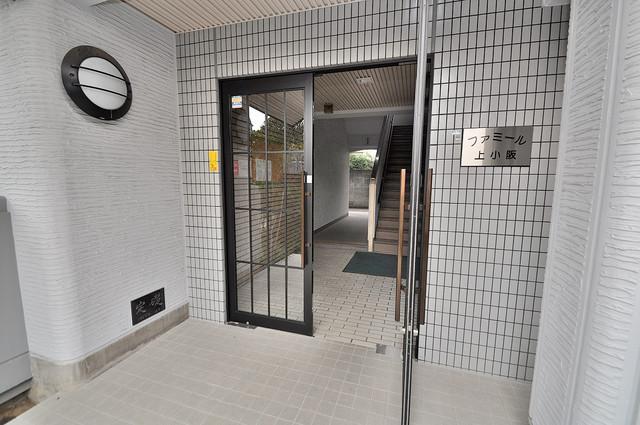 ファミール上小阪 高級感がある広いエントランスがあなたを出迎えてくれます。