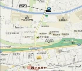 桜上水駅 徒歩18分案内図